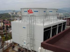 Вентиляторная градирня